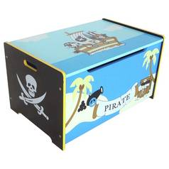 Kiddi Style Bebe Blue Pirate Toy Box