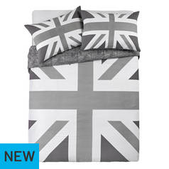 Argos Home Union Jack Bedding Set - Double