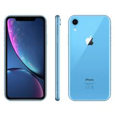Sim Free iPhone XR 128GB Mobile Phone - Blue