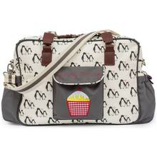 Pink Lining Yummy Mummy Bag - Penguin Love