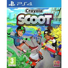 Crayola Scoot PS4 Pre-Order Game
