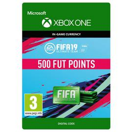 FIFA 19 Ultimate Team - 500 Points Xbox One Receipt Code