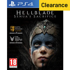Hellblade: Senua's Sacrifice PS4 Game