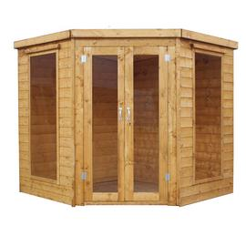 Mercia Wooden 7 x 7ft Corner Summerhouse