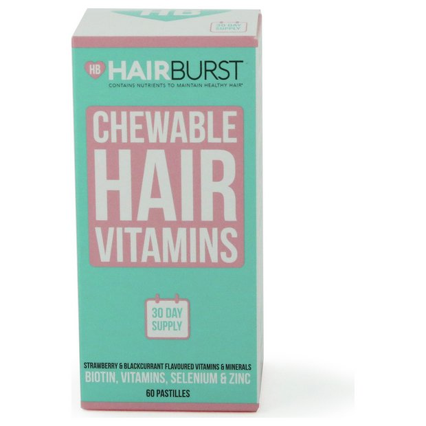 b86f1a9f9e05b Buy Hairburst Strawberry and Blackcurrant Gummies - 1 Month ...