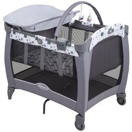 Graco Contour Electra Block Party Travel Cot