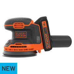 Black & Decker Cordless Random Orbital Sander - 18V