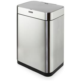 Tower 60 Litre Recycling Sensor Bin - Stainless Steel