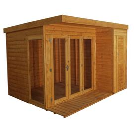 Mercia Wooden 10 x 8ft Premium Garden Room