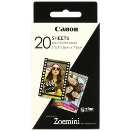 Canon Zoemini Zink Photo Paper - 20 Sheets