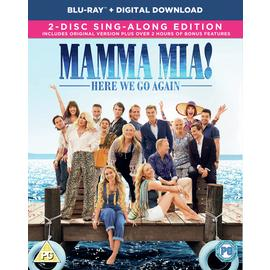 Mamma Mia: Here We Go Again! Blu-Ray