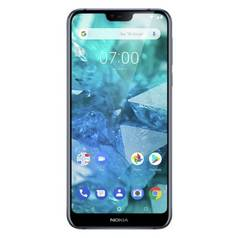 SIM Free Nokia 7.1 32GB Mobile Phone - Blue