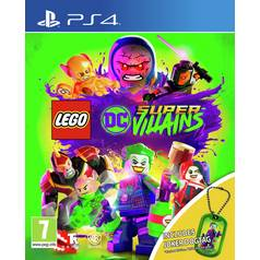 LEGO DC Super-Villains Dogtag Edition PS4 Pre-Order Game