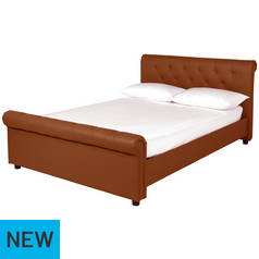 Argos Home Hayford Tan Kingsize Bed Frame