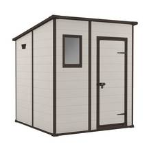 Keter Manor Pent Plastic Shed - 6x6ft