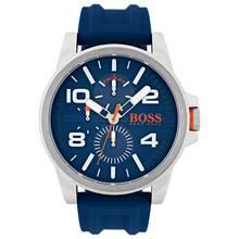 Hugo Boss Orange Blue Silicone Strap Watch