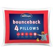 more details on Silentnight Bounceback Pillows - 4 Pack