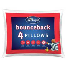 Silentnight Bounceback Pillows - 4 Pack