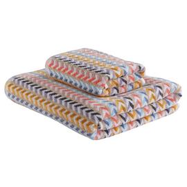 Argos Home Bright Stripe 2 Piece Towel Bale