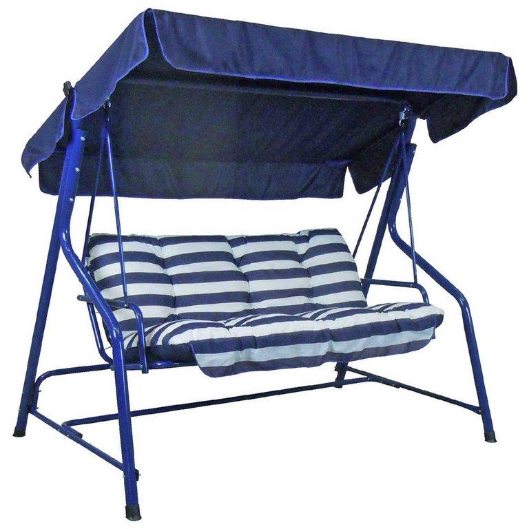 Buy Argos Home Tubular 2 Seater Swing Hammock Blue