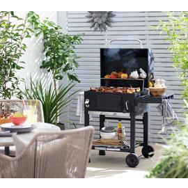 Argos Home American Style Charcoal BBQ
