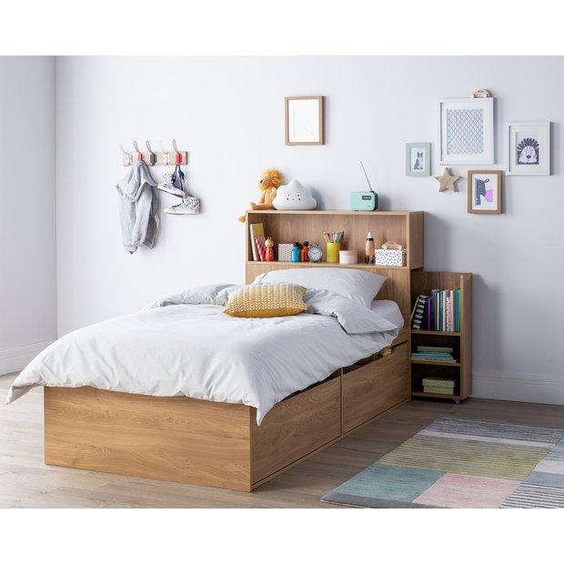 Stupendous Buy Argos Home Lloyd Oak Effect Cabin Bed Headboard Storage Kids Beds Argos Home Interior And Landscaping Oversignezvosmurscom
