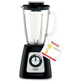 Tefal Blendforce II Glass Jug Blender - Black