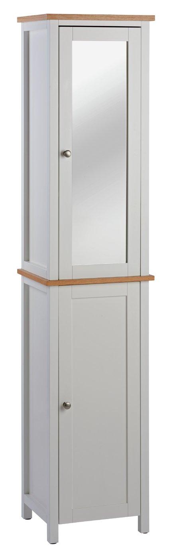 Argos Home Livingston Tall Cabinet   White868/9980
