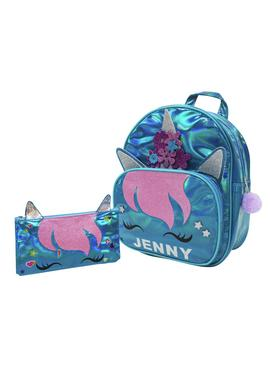 Chad Valley Be U Fluffy Glitter Unicorn 4.5L Backpack