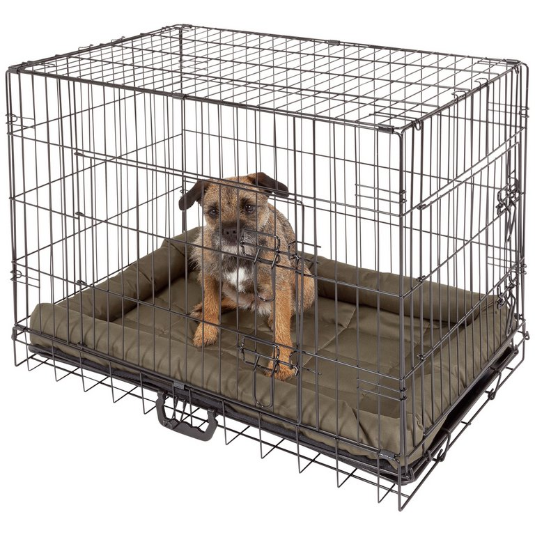 how to make a dog cage at home