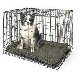 Double Door Pet Cage - Large