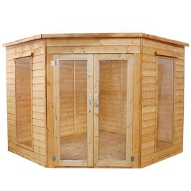 Mercia Wooden 8 x 8ft Corner Summerhouse