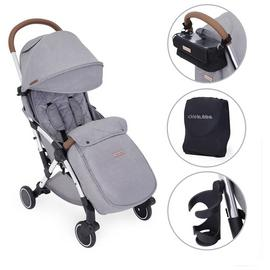 Ickle Bubba Globe Prime Stroller - Grey on Silver