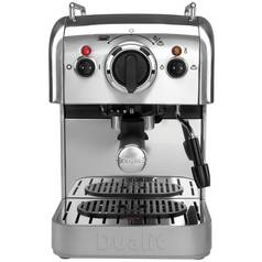 Dualit 3 in 1 Espresso Coffee Machine - Stainless Steel