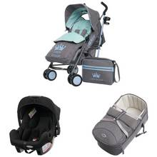 Obaby Zeal 3 in 1 Travel System - Little Prince