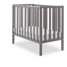 Obaby Bantam Space Saver Cot and Foam Mattress - Taupe Grey