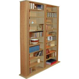 Maximus Oak CD and DVD Media Storage Unit.