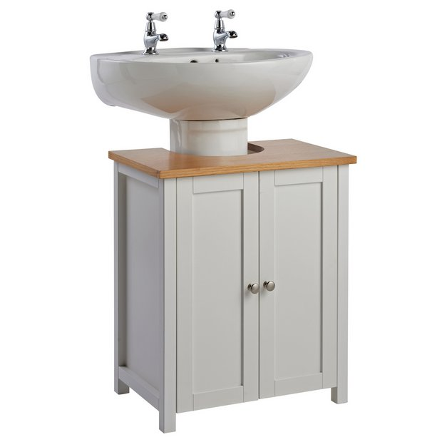Incredible Buy Argos Home Livingston Undersink Storage White Bathroom Shelves And Storage Units Argos Home Interior And Landscaping Mentranervesignezvosmurscom