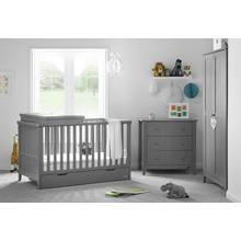 Obaby Belton 3 Piece Room Set - Taupe Grey