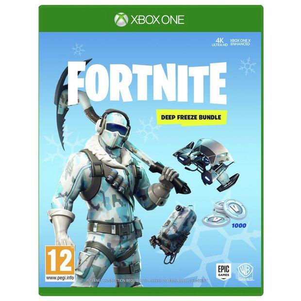 Buy Fortnite Deep Freeze Bundle Xbox One | Xbox One games | Argos