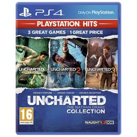 Uncharted Collection PS4 Hits Game