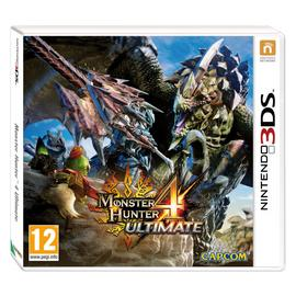 Monster Hunter 4 Ultimate Nintendo 3DS Game
