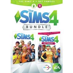 The Sims 4 & Get Famous Expansion PC Bundle