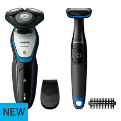 Philips Series 5000 Wet & Dry Electric Shaver & Body Trimmer