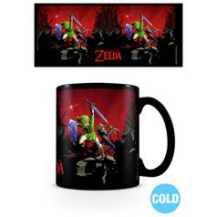 Legend of Zelda Heat Change Mug