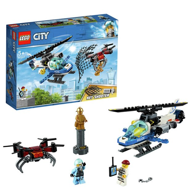 Buy LEGO City Sky Police Drone Chase Toy Helicopter - 60207 | Toy planes  and helicopters | Argos