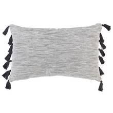 Argos Home Monochrome Tassel Cushion