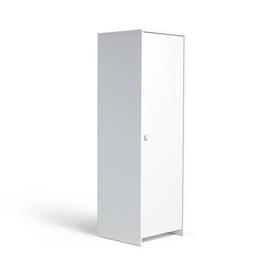 Argos Home Juno 1 Door Wardrobe - White