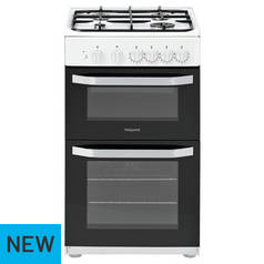 Hotpoint HD5G00KCW Gas Cooker - White