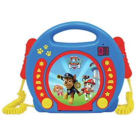 Paw Patrol CD Player with Mic